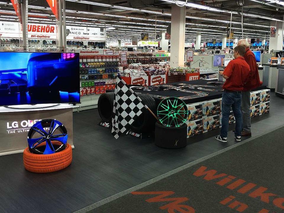 Anki Overdrive im Media Markt Freiburg  | Foto: Media Markt Freiburg