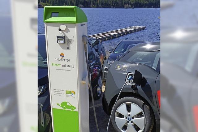 Im Hochschwarzwald holpert es noch mit der E-Mobilität