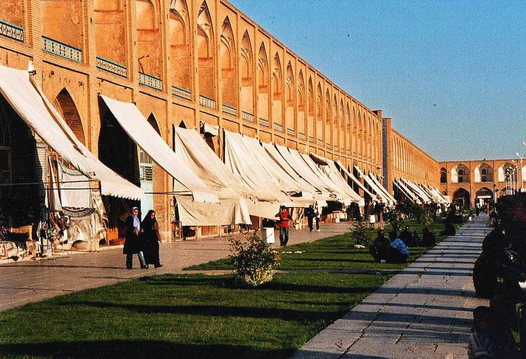 Blick auf die nicht ganz einfache Part...der Zwei-Millionen-Metropole Isfahan.   | Foto: Margrit Heyn