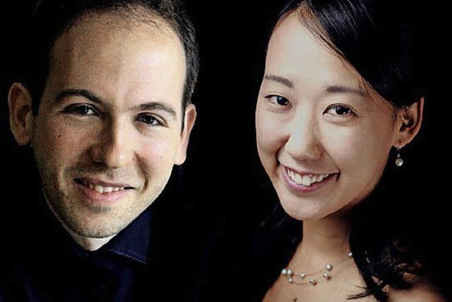 Hana Akiyama und Samuel Scott Serrano im Depot K.