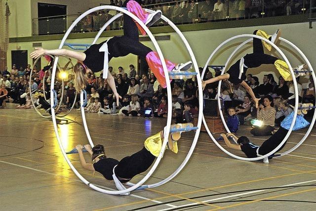 Turnen, Tanz und Akrobatik