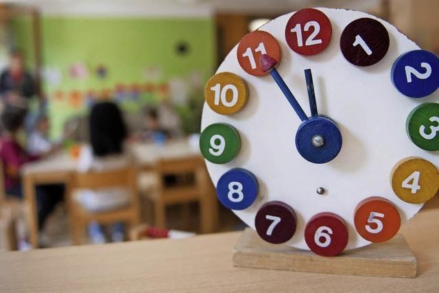 Gemeinderäte diskutieren über Kinderbetreuung