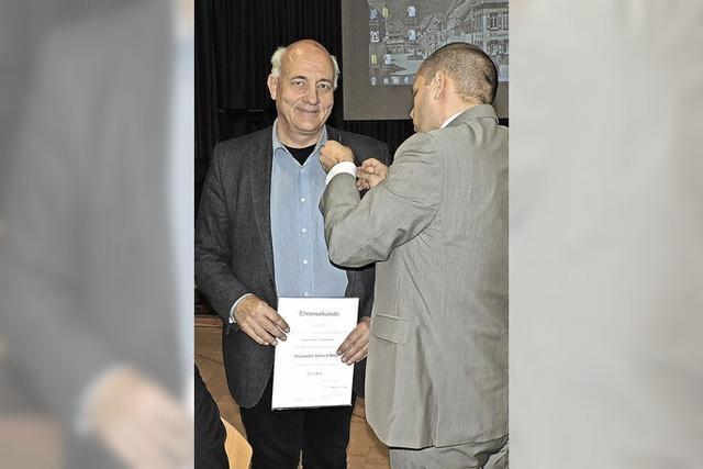 Alexander Schoch seit 20 Jahren im Gemeinderat