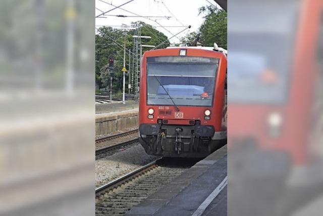 Hochrhein-Elektrifizierung in Etappen?