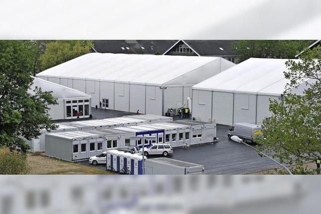 Kreis will Leichtbauhalle für Flüchtlinge in Denzlingen aufbauen