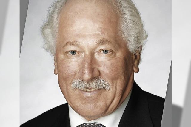 Gemeinderat Otto Frey will aufhören