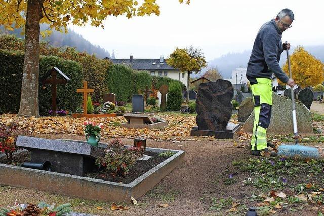 Auch Friedhöfe brauchen gärtnerische Zuwendung
