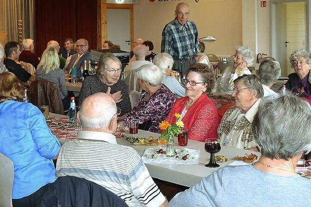 Senioren erleben schöne Stunden