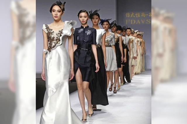 Bei der China Fashion Week