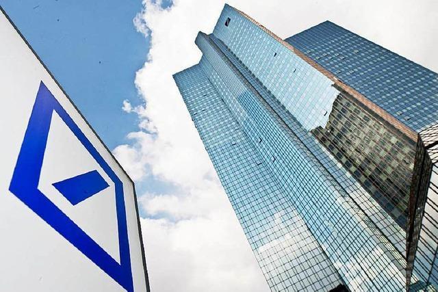 Schrumpfkurs: Deutsche Bank baut tausende Stellen ab