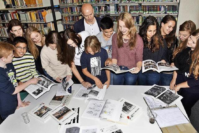 Am Gymnasium Kenzingen machen Schülerinnen und Schüler Pressearbeit