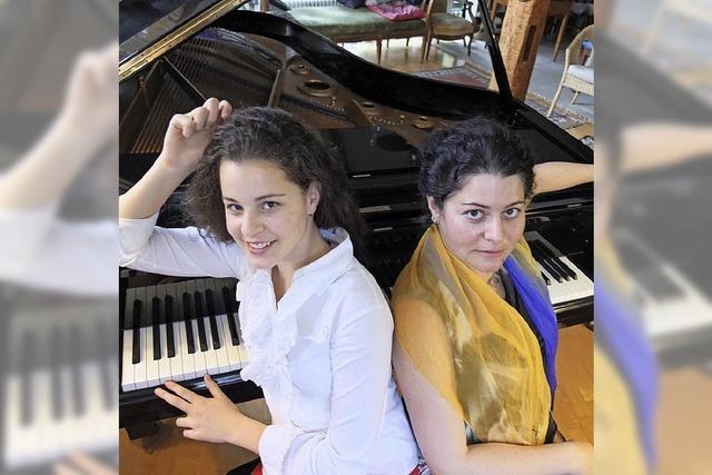Karina Kveigoren und Ada Heinke in Riegel