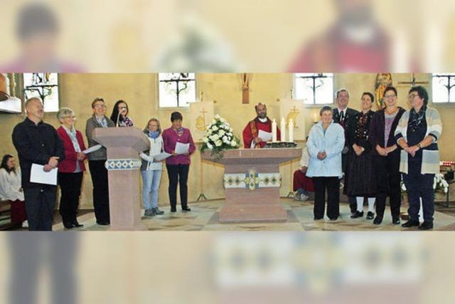 Alles zu Ehren der Heiligen