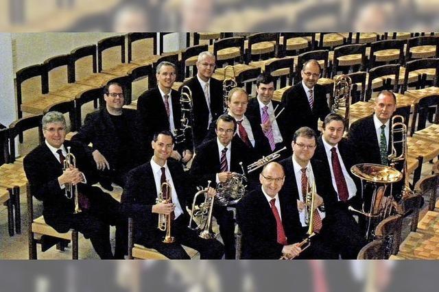 Zürczher Blechbläser Ensemble in Wutöschingen