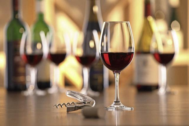 Weinverkostung in Bad Bellingen