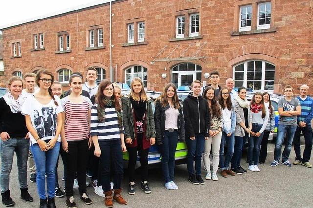 Lahrer Jugendliche nehmen am Projekt Schutzengel teil
