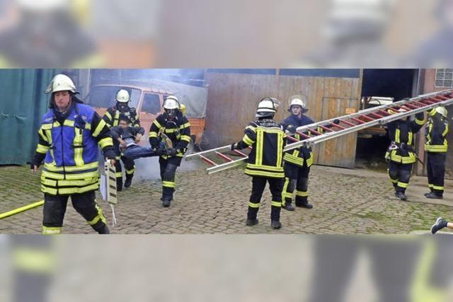 Schwieriges Objekt für die Feuerwehr