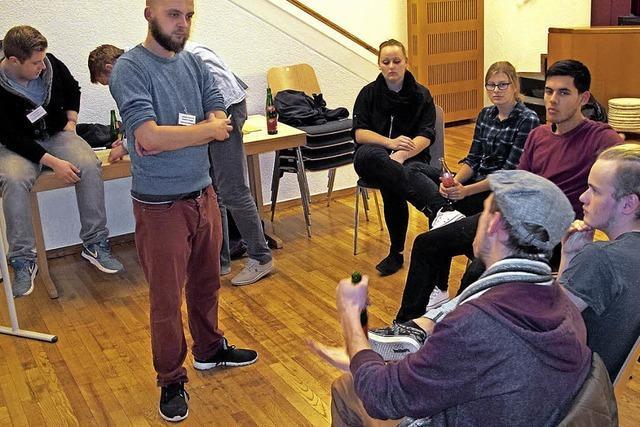 Große Resonanz auf Jugendhearing