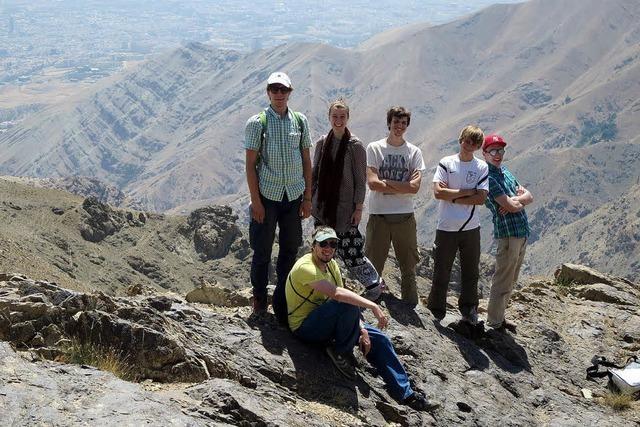 Jugendliche aus dem Breisgau unterwegs im Iran