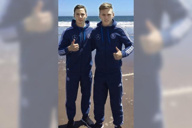 Freiburger Duo im WM-Modus