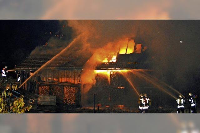 Feuerwehr verhindert Schlimmeres