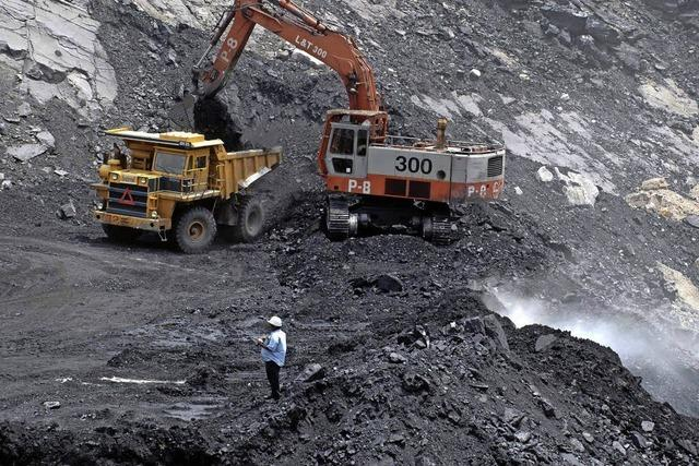 Kohleabbau gegen den Widerstand von Bewohnern und Umweltorganisationen