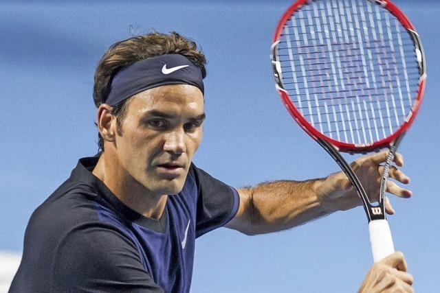 Federer schlägt Kohlschreiber