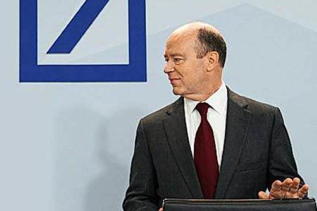 Der erste Auftritt von Deutsche-Bank-Chef Cryan