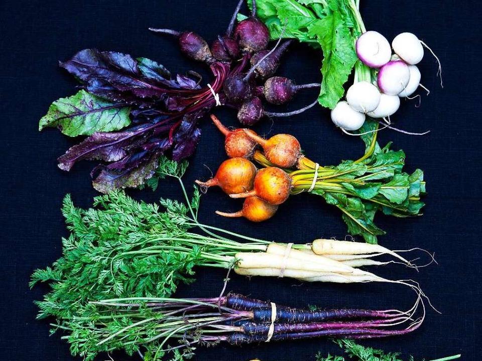 Daraus lässt sich etwas zaubern: frisches Gemüse vom Markt    Foto: Michael Wissing BFF