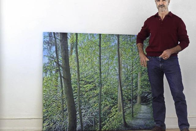 Celso Martínez Naves stellt in der Galerie im Tor aus