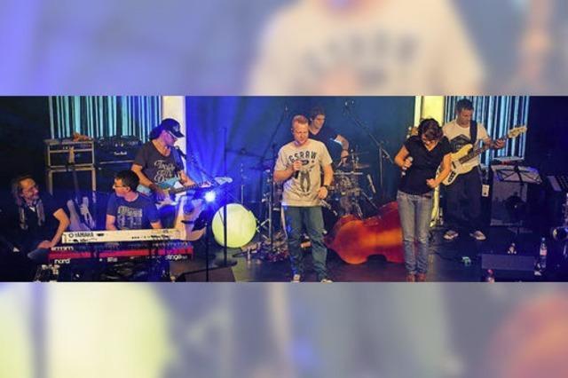 Benefizkonzert der SlamJam Band für das Projekt afrikahelp