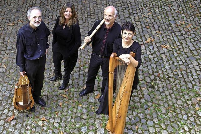 Mittelalterliche Musik mit den Freiburger Spielleyt im Kunstpalais