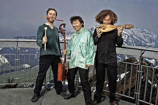 Das Trio Violons Barbares im Salmen