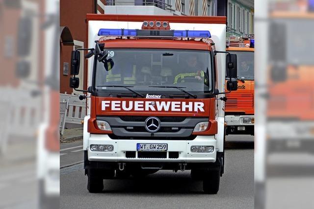 Führerschein für Feuerwehrfahrzeuge