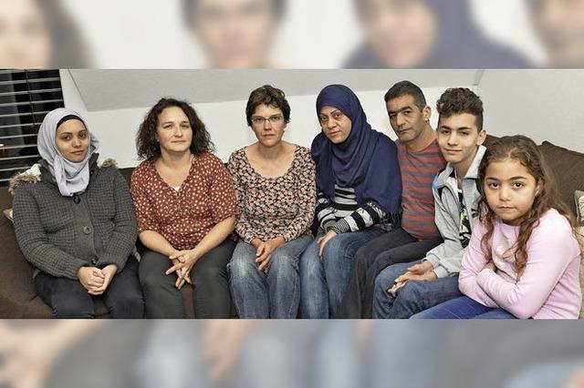 Familie Allababidi fühlt sich in Ihringen fast schon heimisch