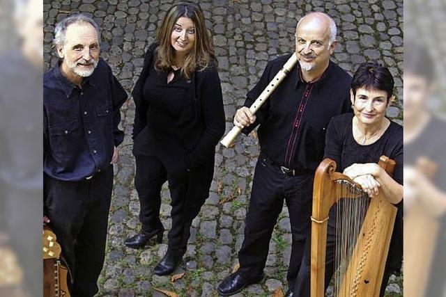 Mittelalterliche Klänge: Die Freiburger Spielleyt im Kunstpalais