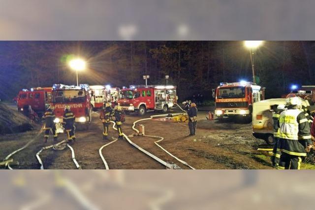 Bei der Feuerwehrübung kommt ein schweres Unglück zum anderen