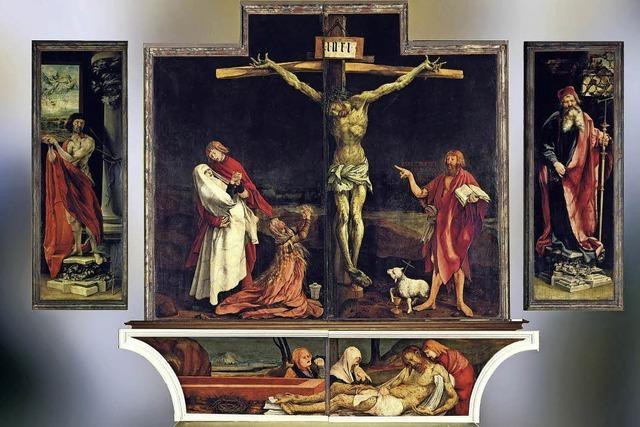 Ein Semester lang Isenheimer Altar