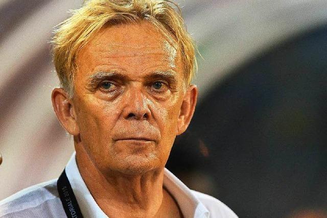 Volker Finke nicht mehr Nationaltrainer in Kamerun