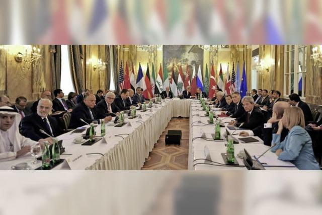 Iraner und Saudis an einem Tisch