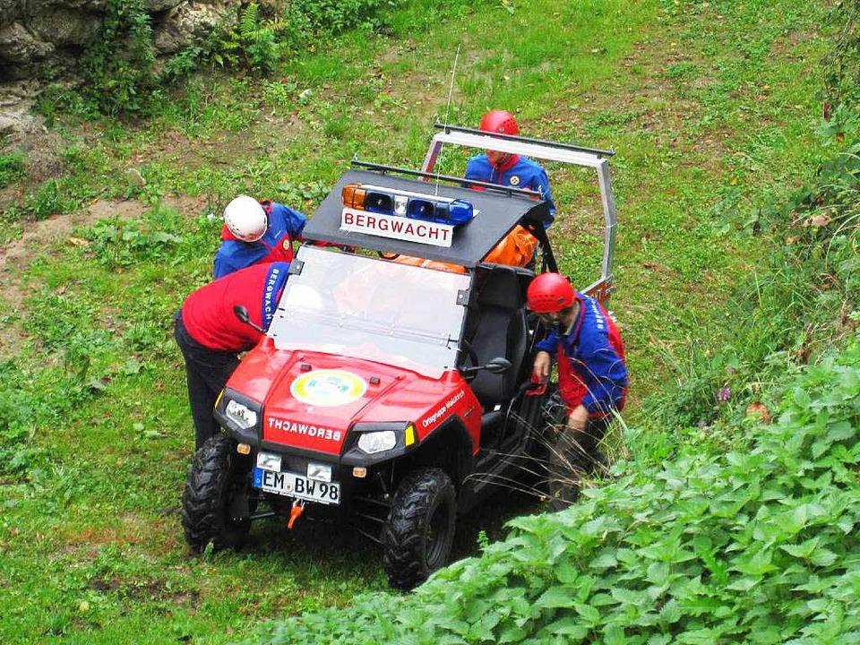 Einsatz für die Bergwacht. (Symbolbild)    Foto: Bergwacht