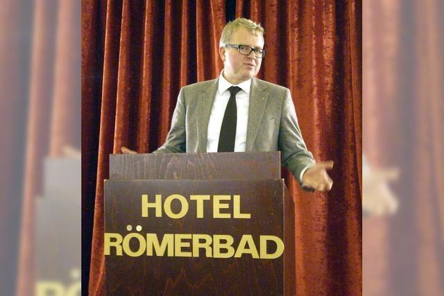 Frank Schäffler referierte beim Liberalen Clubs Südbaden über Flüchtlingspolitik