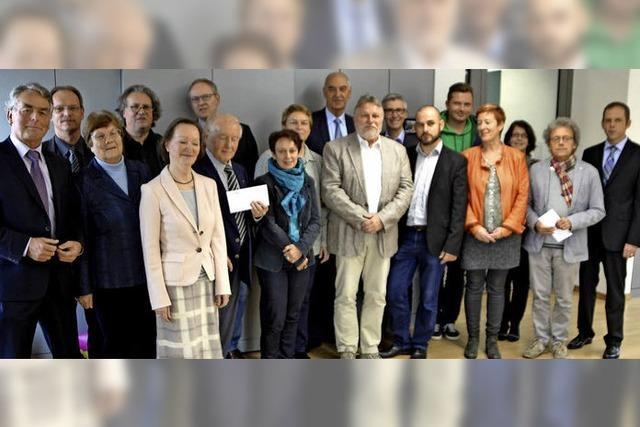 Elf gemeinnützige Projekte erhalten Spenden