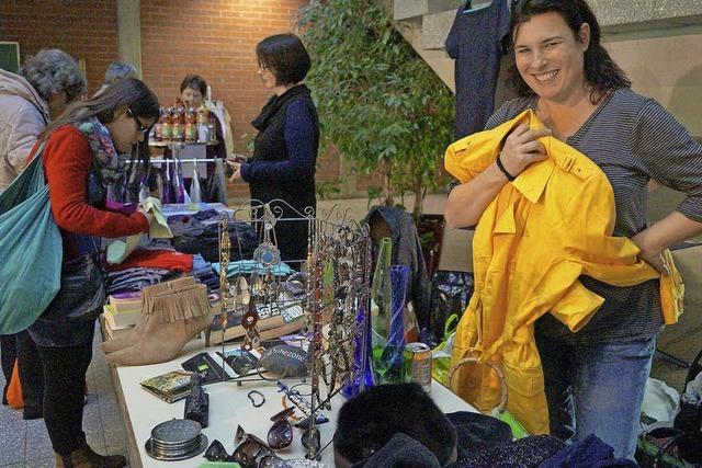 Der Frauenflohmarkt ist in der AMS angekommen