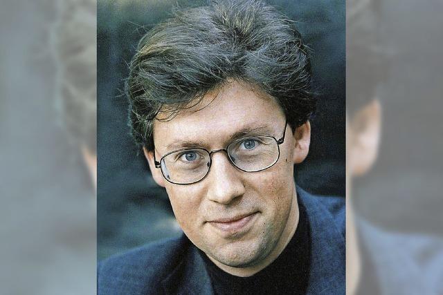 Pianist Ian Fountain in Bonndorf