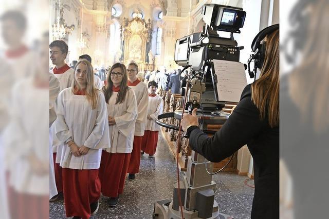 TV-Kameras in St. Josef