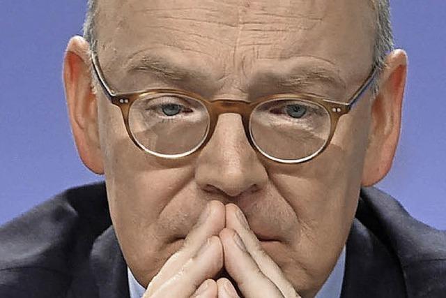 Der Chef der Commerzbank hört auf