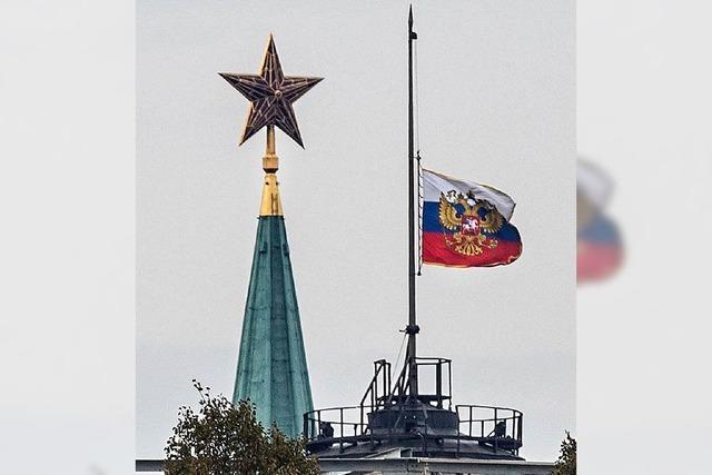 Russland trauert um die Opfer von Flug KGL 9268