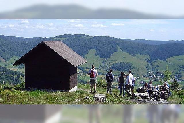 Grenzsteinwanderung in Bernau