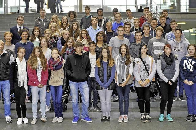 Realschüler erkunden Berlin